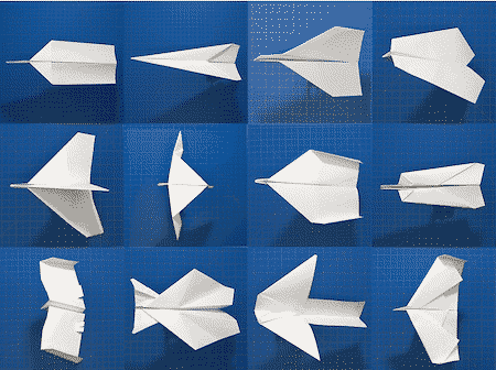 Folding planes is everyone's favorite past time